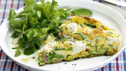 Омлет из кабачков: 10 рецептов к завтраку