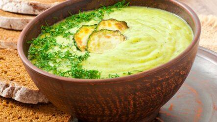 Суп-пюре из кабачков: 10 замечательных рецептов