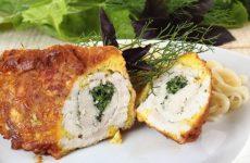 Куриные рулетики с сыром: 8 лучших рецептов