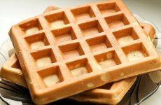 Венские вафли в электровафельнице: 7 сладких рецептов