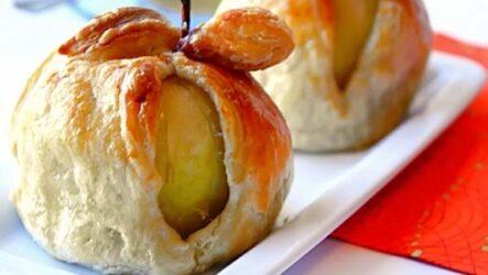 Яблоки, запеченные в тесте: 8 рецептов из детства