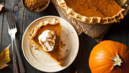 Американский тыквенный пирог: 10 прекрасных рецептов