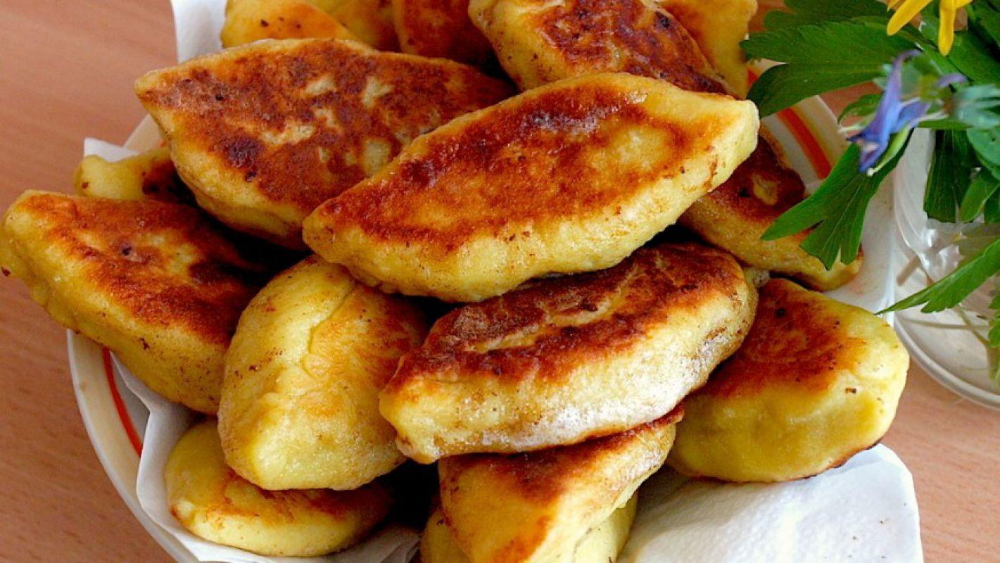 Пирожки на сковороде с картошкой пошаговый рецепт