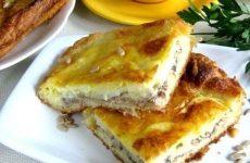 Пирог с сайрой на кефире: 7 хороших рецептов