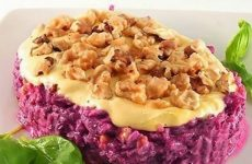 Салат из свеклы с орехами: 8 замечательных рецептов