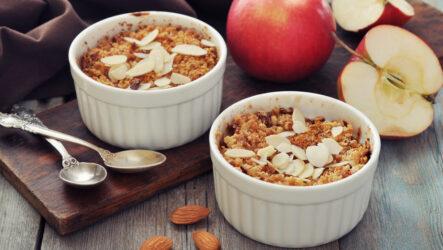 Яблочный крамбл: 10 английских рецептов