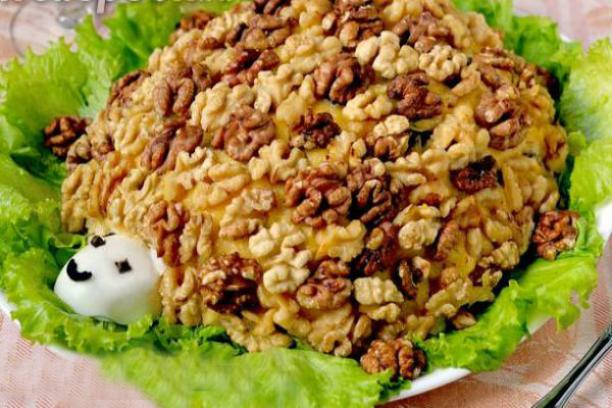 Салат черепашка рецепт с фото пошаговый