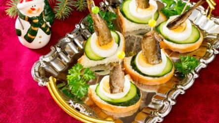 Канапе на Новый год-2021: 10 праздничных рецептов