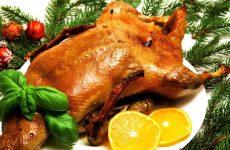 Рождественский гусь: 9 праздничных рецептов