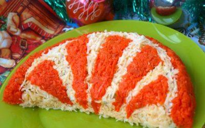 Салат Апельсиновая долька: 8 праздничных рецептов