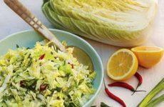 Салат из китайской капусты: 10 свежих рецептов