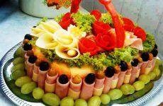 Салат Торт: 7 красивых праздничных рецептов