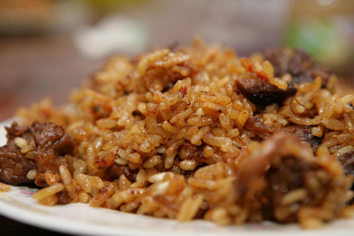 как приготовить плов из коричневого риса
