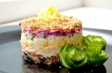 Салат Неженка: 7 хороших рецептов