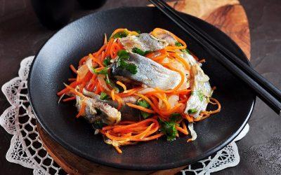 Селедка по-корейски: 10 восточных рецептов
