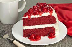 Домашний торт Красный бархат: 7 шикарных рецептов