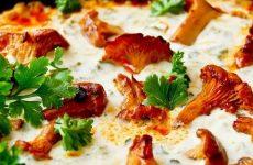 Лисички в сметане: 10 прекрасных рецептов