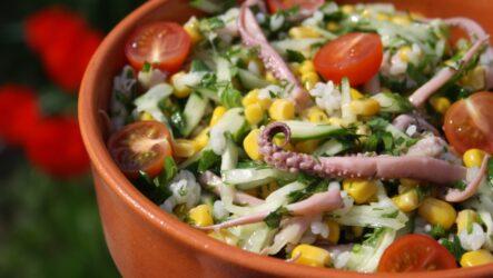Вкусные постные салаты: 7 рецептов
