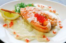 Семга в сливочном соусе: 10 прекрасных рецептов