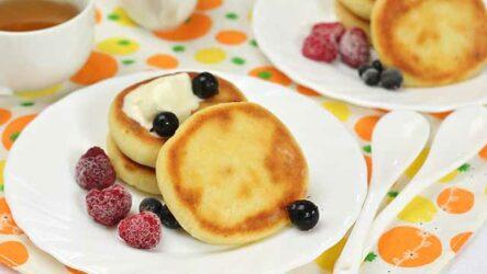 Сырники детские: 9 полезных рецептов