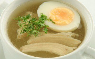 Куриный суп с яйцом: 8 сытных рецептов