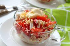 Салат Красное море: 8 ярких рецептов
