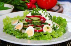 Салат из редиса с яйцом: 7 витаминных рецептов