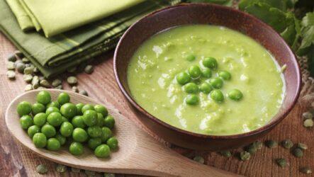Суп из зеленого горошка: 10 прекрасных рецептов