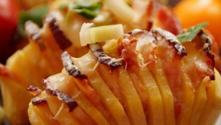 Картофель Гармошка: 10 отличных рецептов