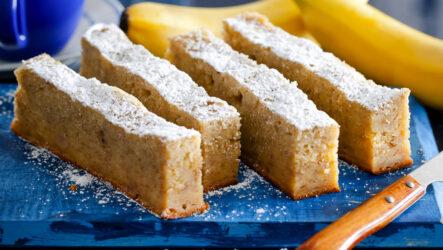 Банановый кекс: 10 сладких рецептов