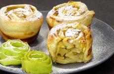 Булочки с яблоками: 10 отличных рецептов