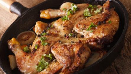 Цыпленок табака на сковороде: 8 рецептов из Грузии