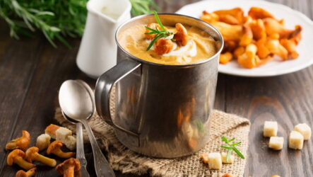 Грибной суп с лисичками: 9 отличных рецептов
