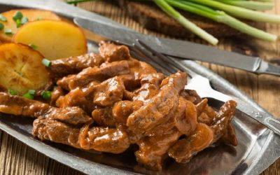 Бефстроганов из говядины: 8 традиционных рецептов