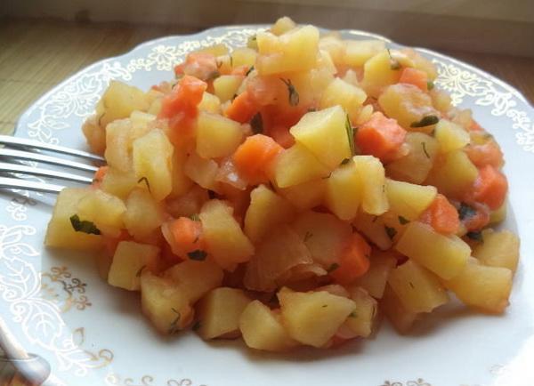 Рагу из картофеля
