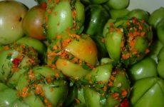 Квашеные зеленые помидоры: 9 хороших рецептов