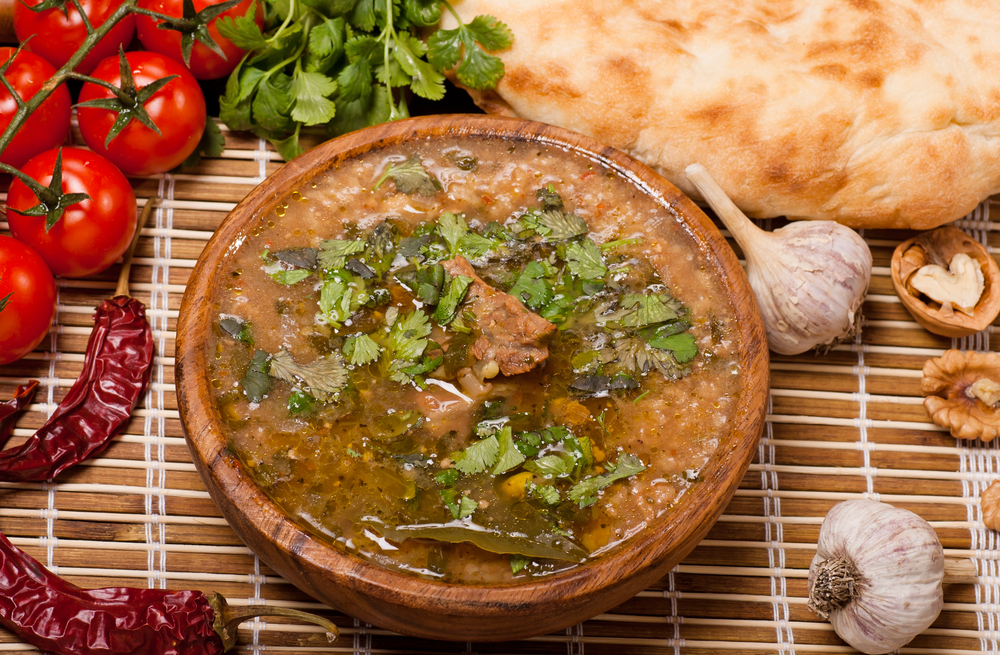 Суп харчо из говядины