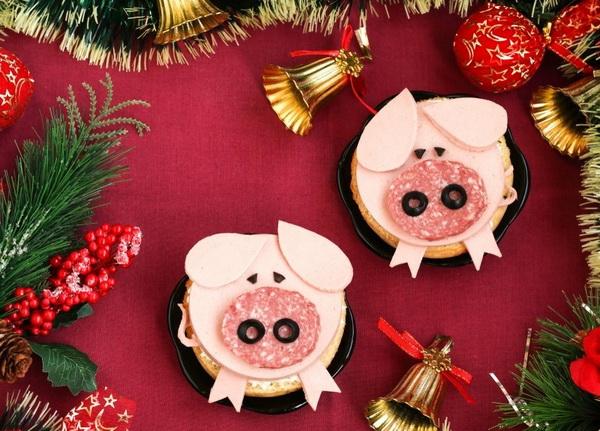 Новогодние блюда на 2019 год