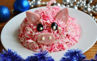 Салат Свинка: 8 рецептов