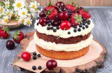 Торт с маскарпоне: 9 сладких рецептов