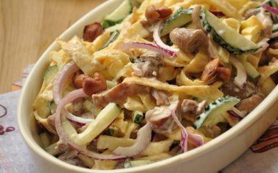 Блинный салат: 8 оригинальных рецептов