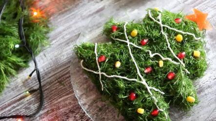 Салат Ёлочка: 7 рецептов на Новый год и Рождество