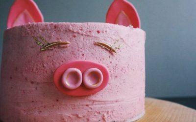 Торт в виде Свиньи: 6 рецептов для встречи 2019 года