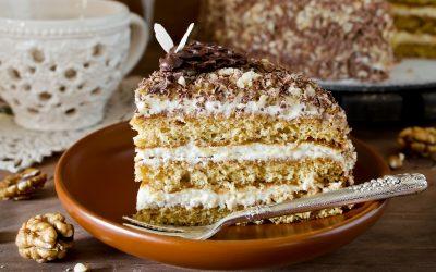 Домашний сметанный торт: 10 сладких рецептов