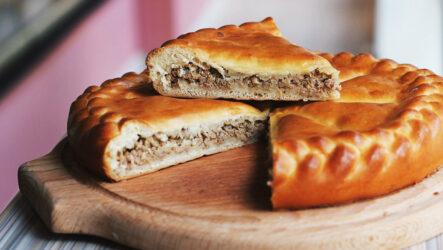 Дрожжевой пирог с мясом: 8 замечательных рецептов