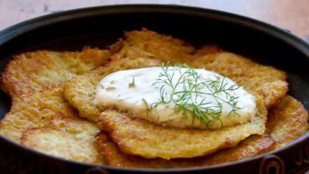 Картофельные блины: 8 сытных рецептов