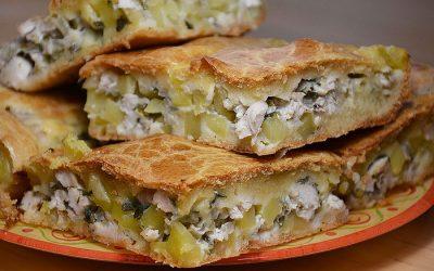 Рыбный пирог на кефире: 7 быстрых рецептов