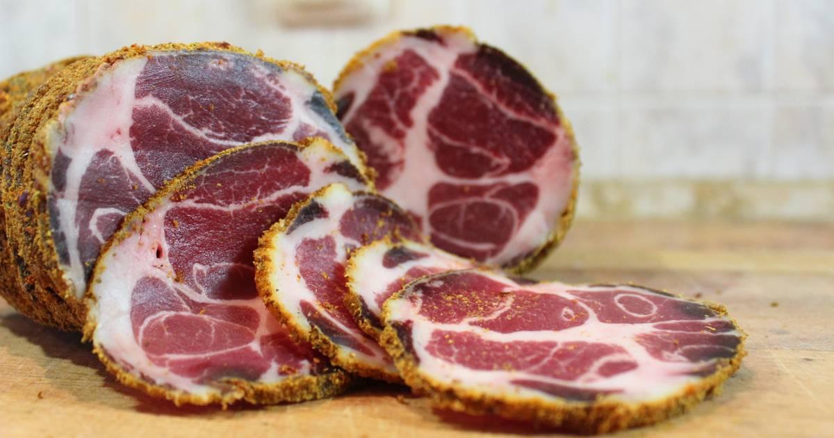 Вяленая свинина