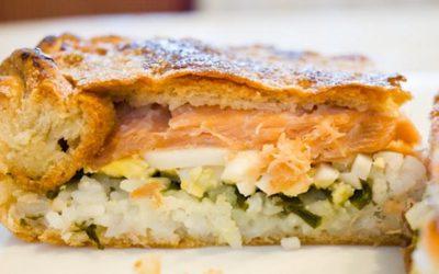 Рыбный пирог с рисом: 7 отличных рецептов