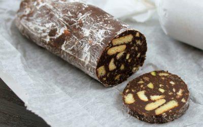Шоколадная колбаса с какао: 7 сладких рецептов